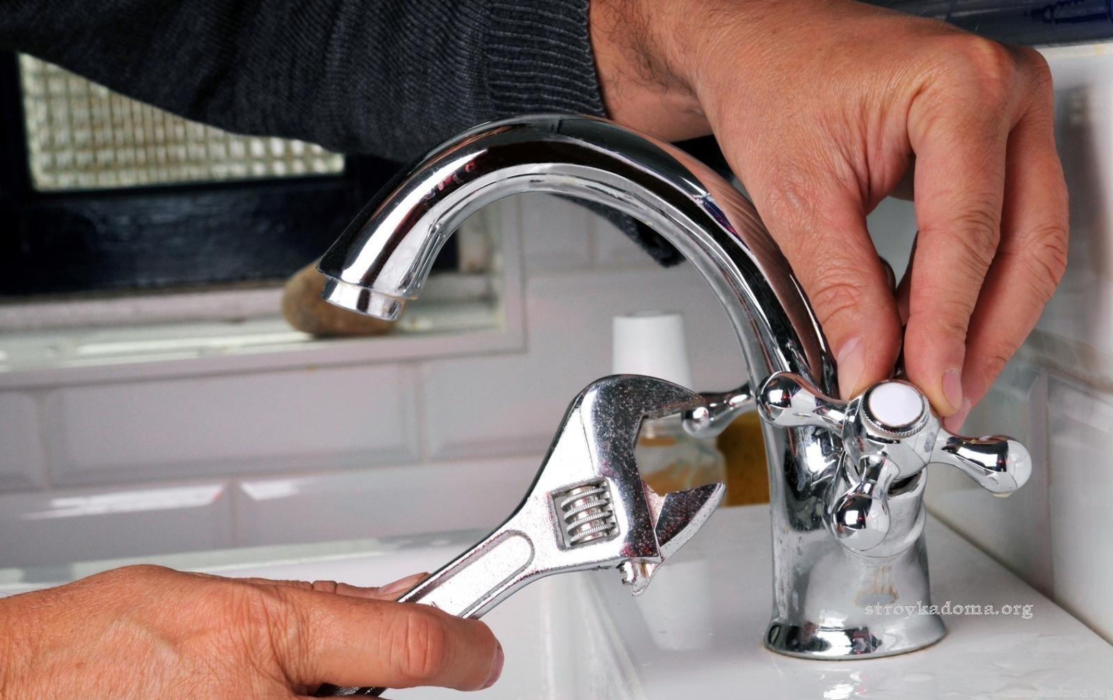Замена крана в ванной своими руками