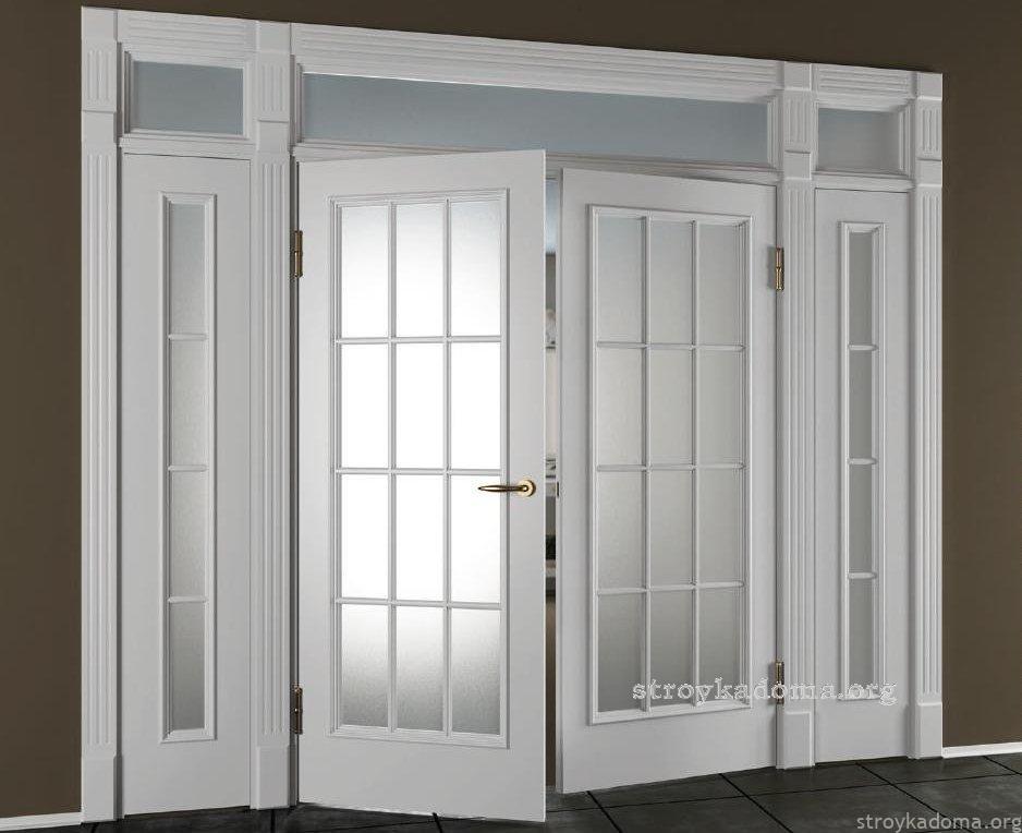 Распашные двери для частного дома
