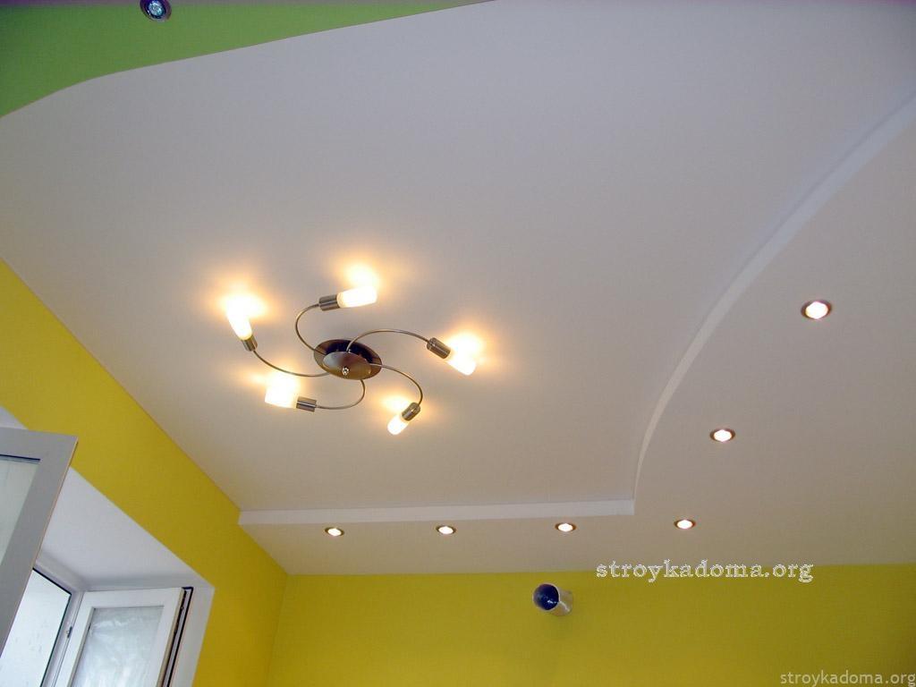 Ремонт своими руками потолок