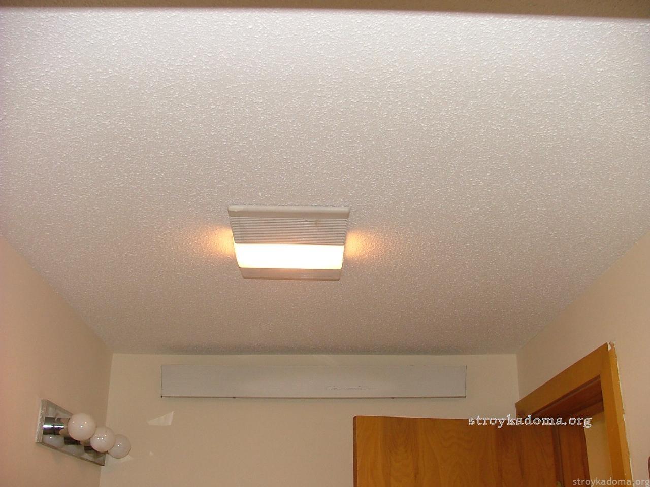 Ремонт своими руками потолок видео фото 736