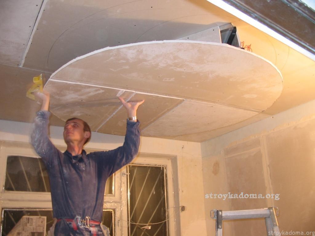 Ремонт квартир своими руками потолок фото