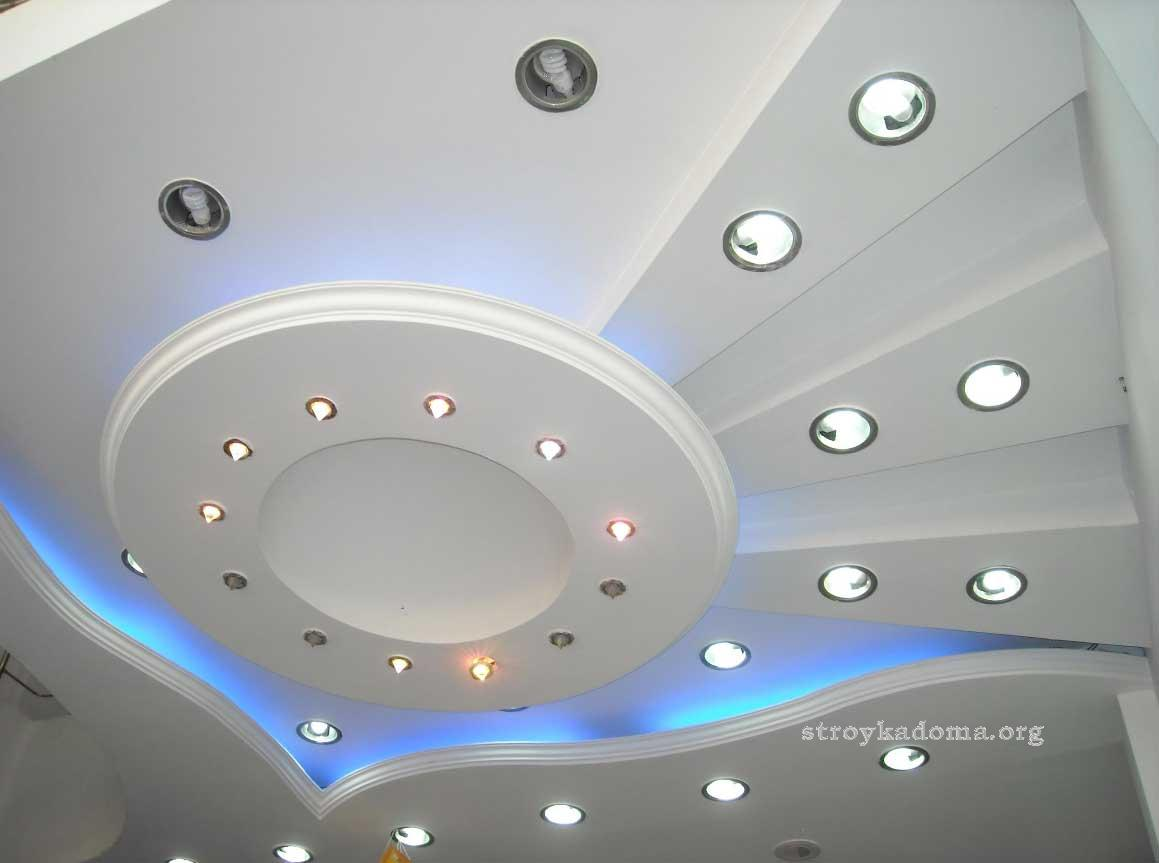 Ремонт потолка 6