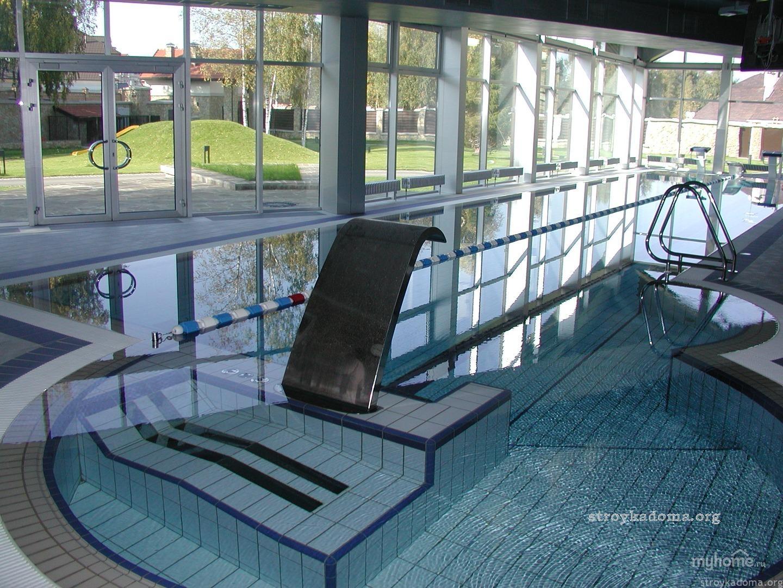 Современный переивной бассейн