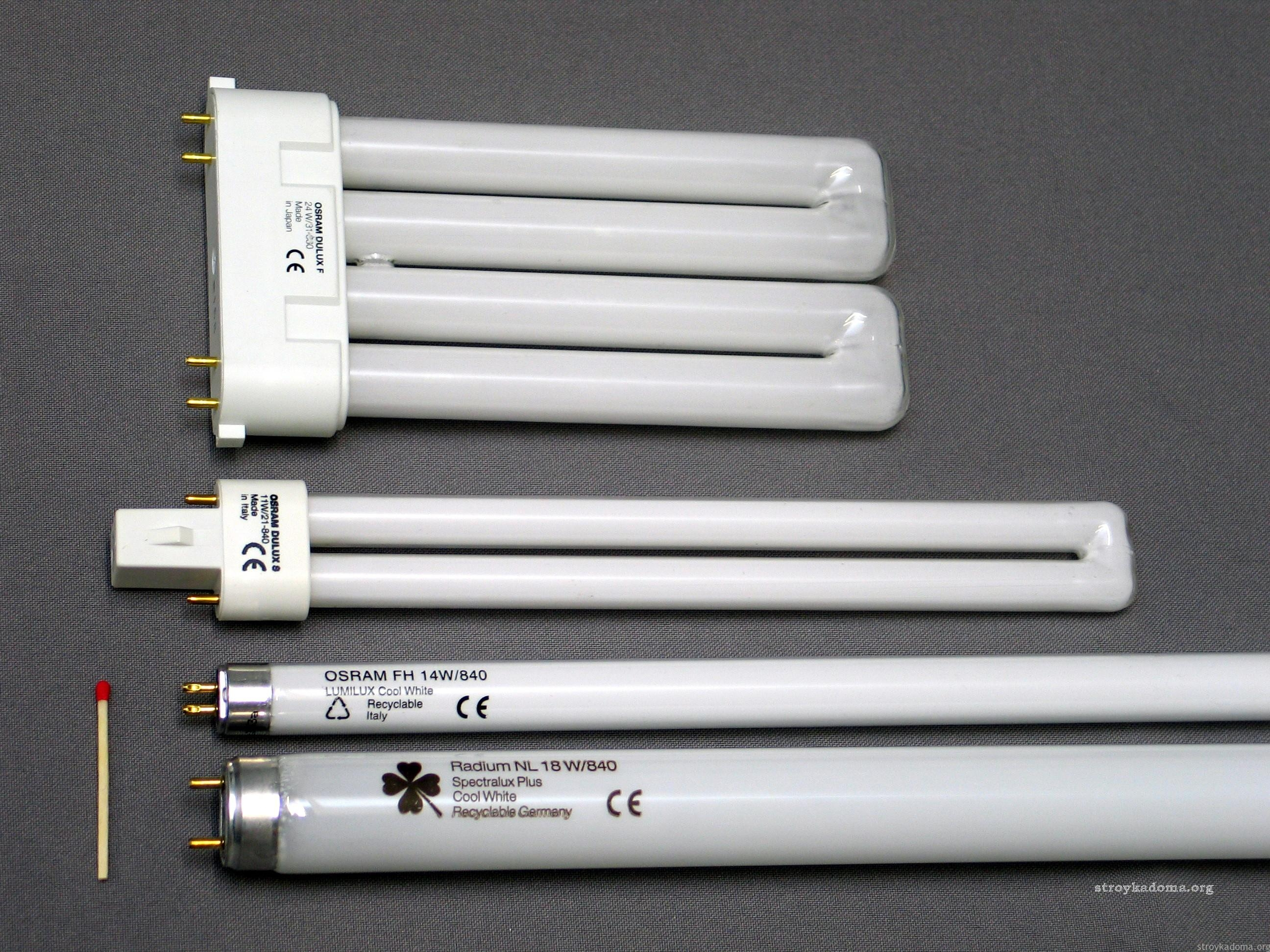 Как подключить лампу дневного света