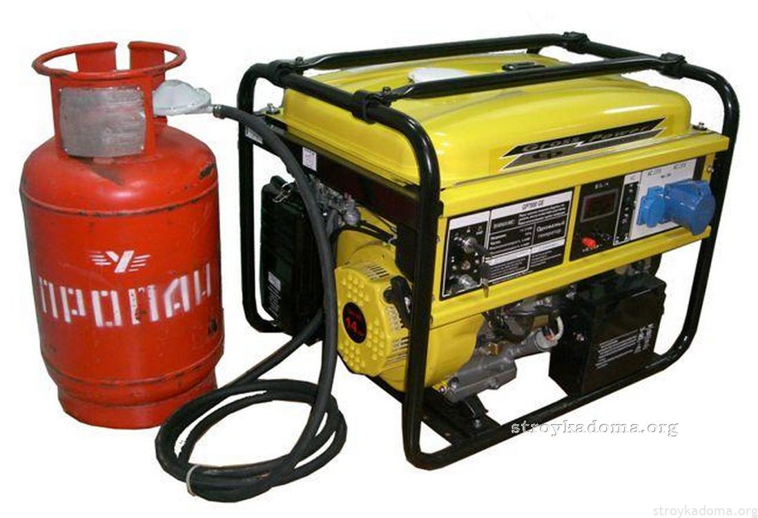 газовый генератор на пропане