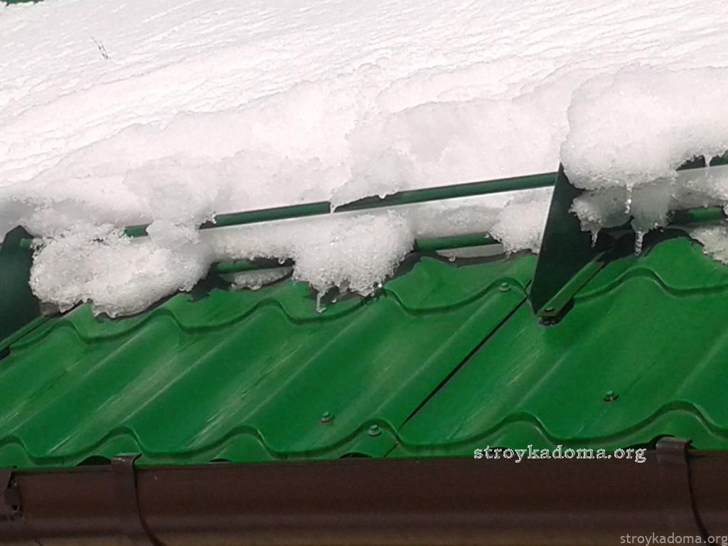 снегодержатель на окна