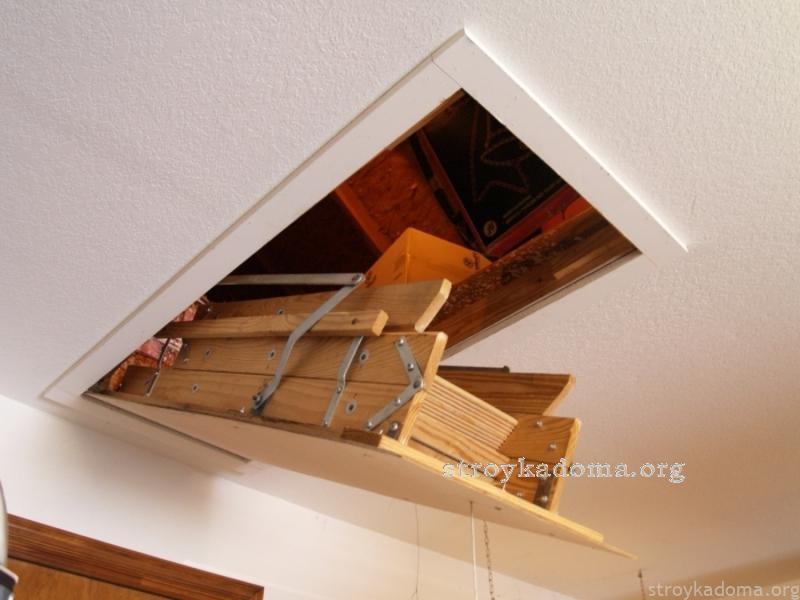 чердачная лестница 3