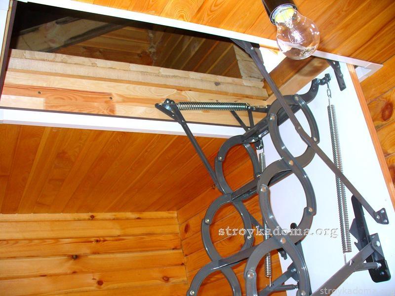 чердачная лестница 5