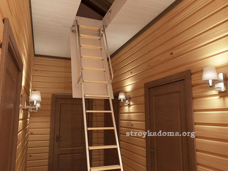 чердачная лестница 8