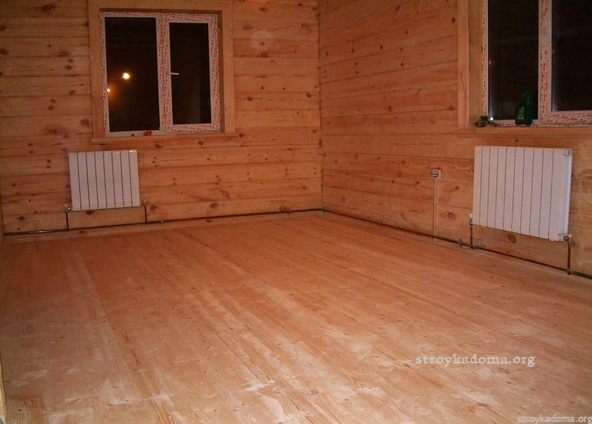 Качественный деревянный пол для дома