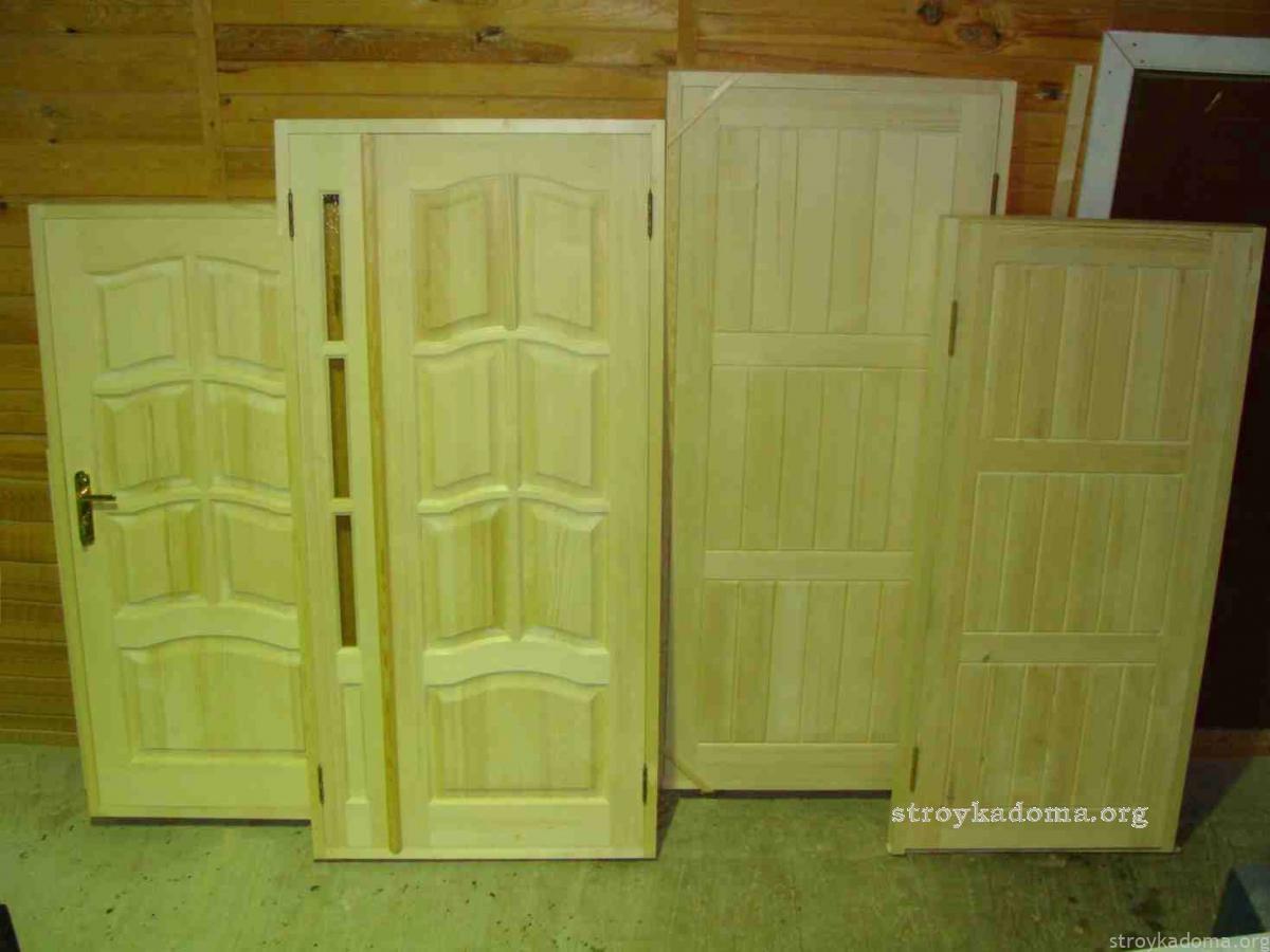Разновидности межкомнатных дверей сделанных своими руками
