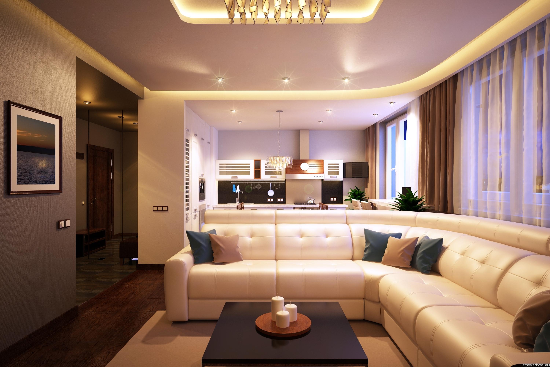 Дизайн квартиры 70 кв. м 2