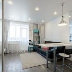 Дизайн однокомнатной квартиры 30 кв. м 1