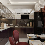 Дизайн однокомнатной квартиры 30 кв. м 2