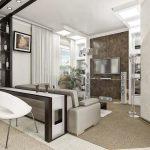 Прмиер дизайна квартиры студии 1