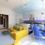 Прмиер дизайна квартиры студии 2