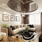 Прмиер дизайна квартиры студии 3