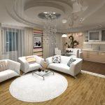 Прмиер дизайна квартиры студии 4