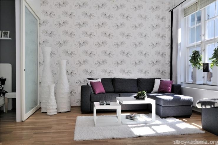 дизайн интерьера современной квартиры 40 метров квадратных