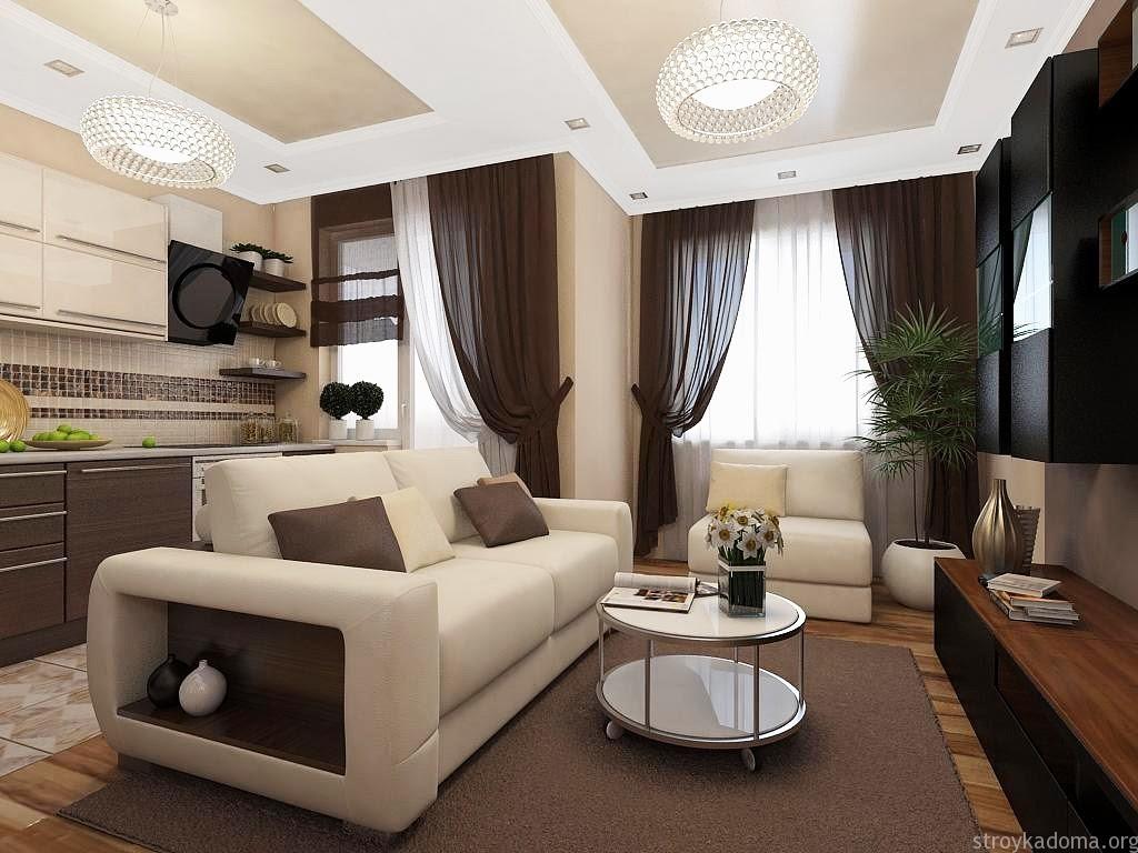 Дизайн квартир фото 70 кв.м