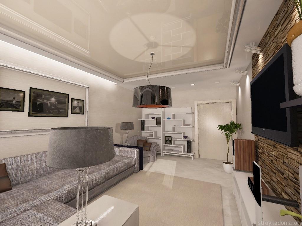 Дизайн квартиры 70 кв. м - лучшие фото идеи планировки ...: http://stroykadoma.org/dizajn-kvartiry-70-kv-m/