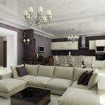 Дизайн-проект интерьера квартиры-студии