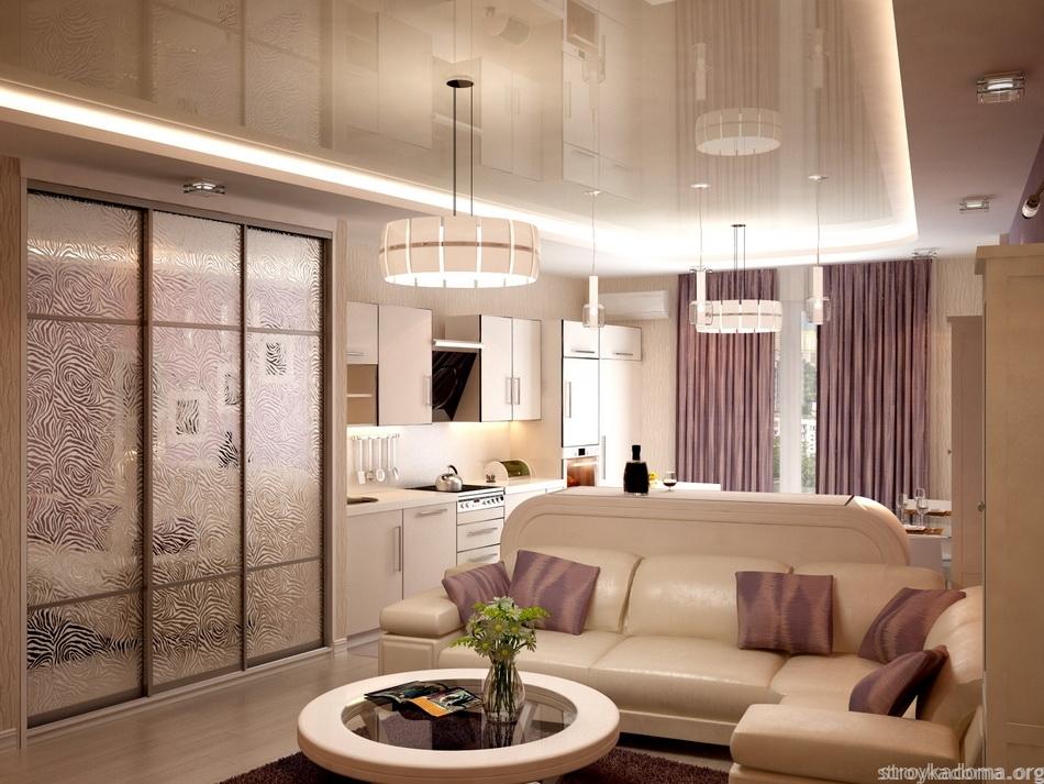 квартира 40 м.кв дизайн