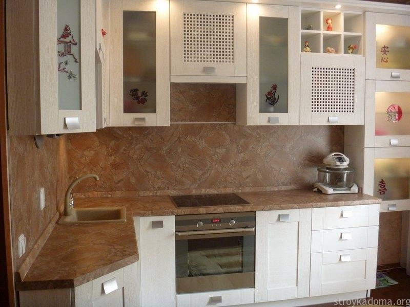 Кухонный фартук из пвх панелей своими руками
