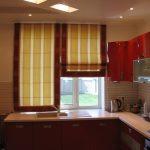 Римские шторы на кухню - 1