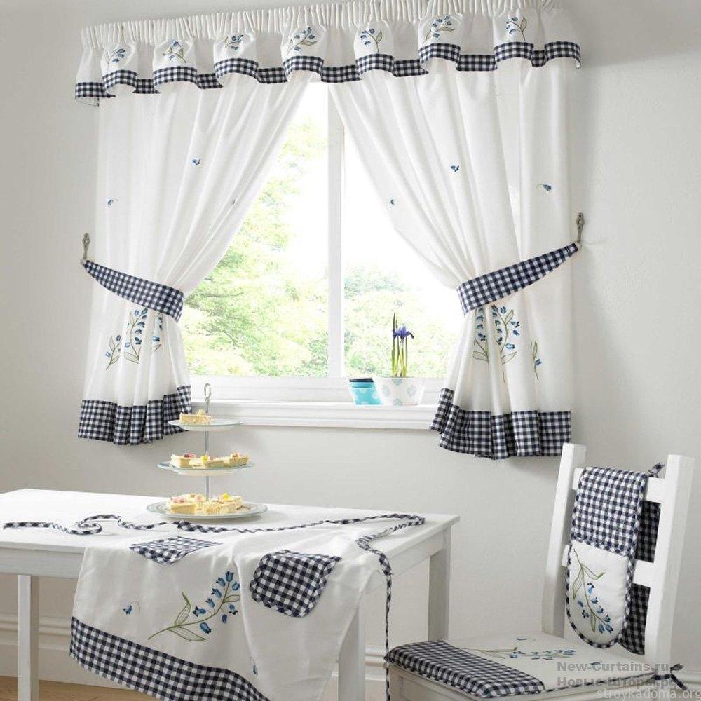 Современные шторы н кухню