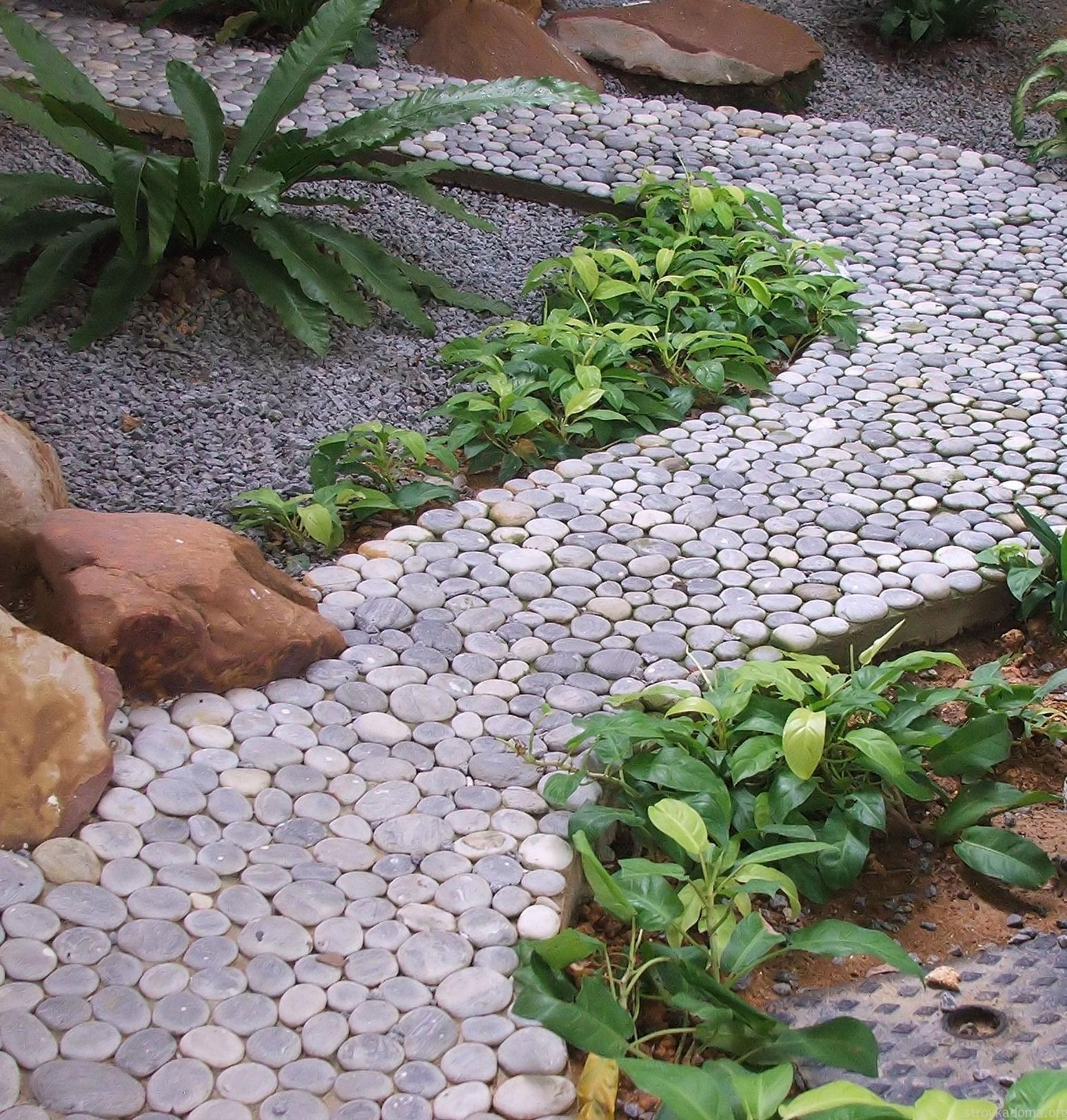 Дорожки в саду своими руками 4