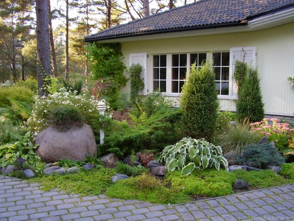 Интерьер садового участка своими руками фото