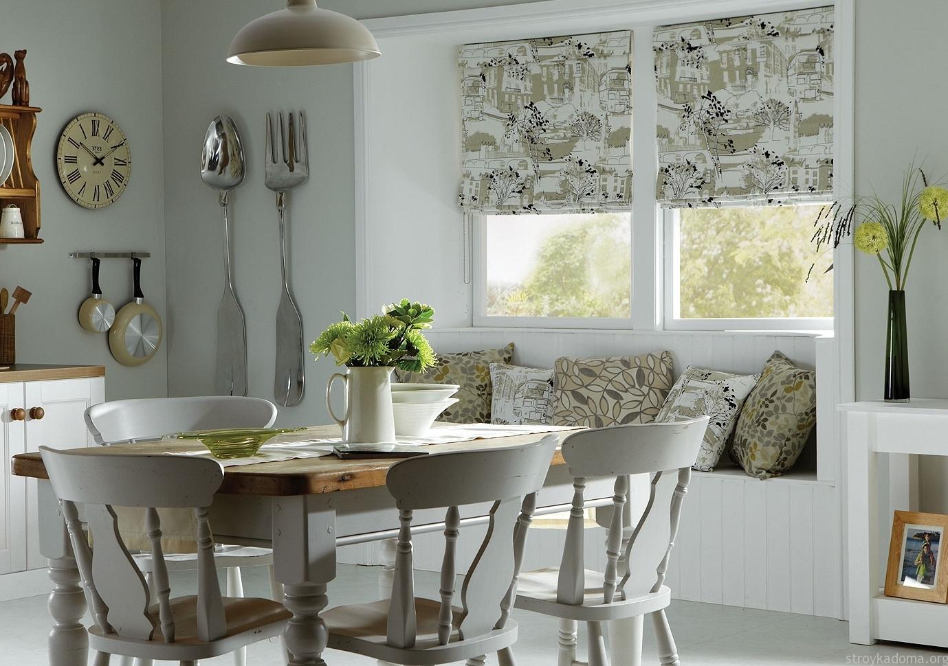 Модные шторы для кухни