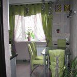 Современные шторы для кухни - 10