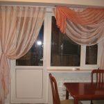 Современные шторы для кухни - 11