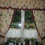 Современные шторы для кухни - 12