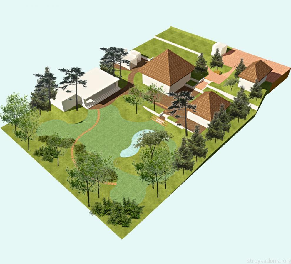 Составить план проектирования земельного участка 4