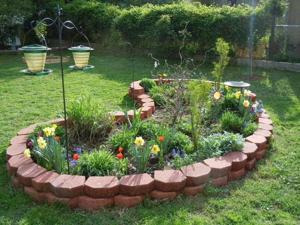Дизайн маленького сада своими руками фото и идеи