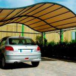 навесы для автомобилей из поликарбоната фото - 8