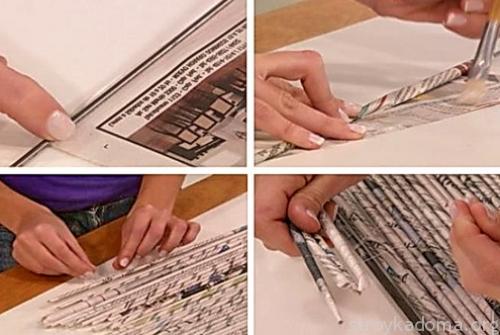 Мастер класс - бумажные жалюзи для дома