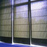 Узкие римсские шторы в реале