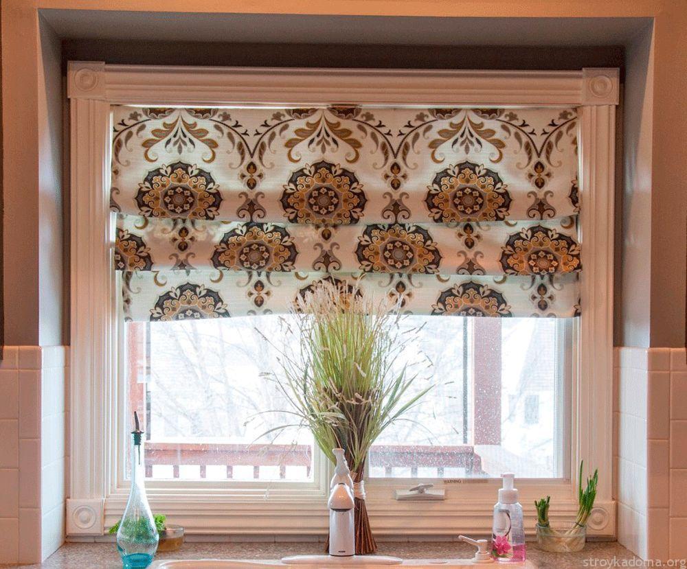 Каскадные римские шторы своими руками пошаговая инструкция с