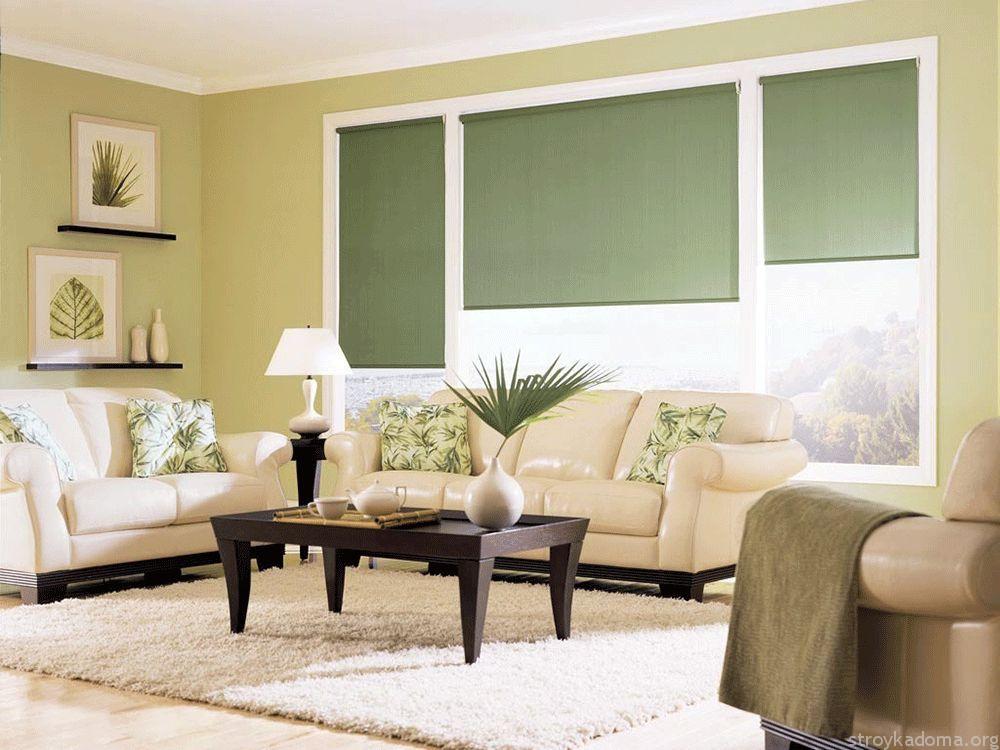 Картинки по запросу рулонные шторы фото в интерьере