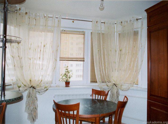 Современное оформление окна