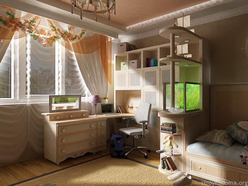 Лучшие варианты интерьера для комнаты девочки-подростка.
