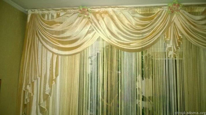 Драпировать шторы своими руками
