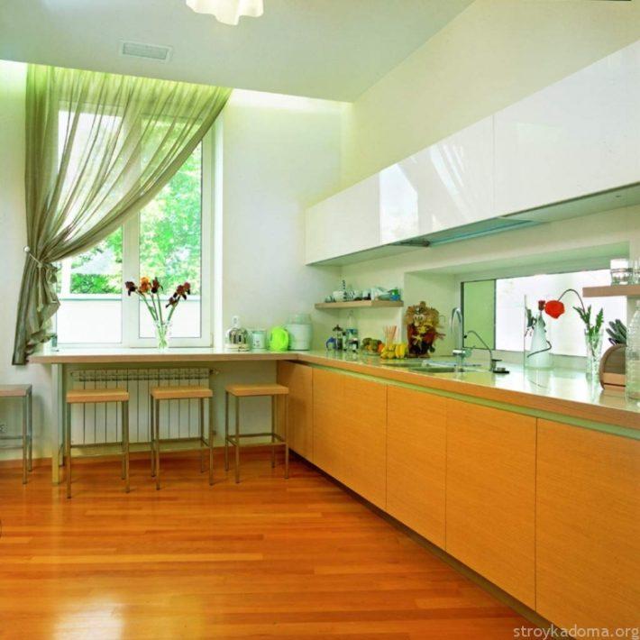 Кухня, в которой приятно находиться