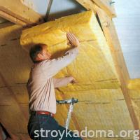 Как утеплять чердак или потолок