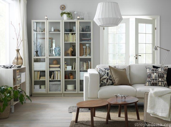 Белый диван ИКЕА