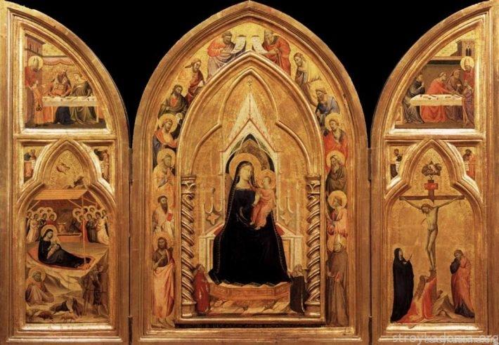 Икона-триптих – по-особенному встретит и проводит в прихожей; отвлечет от суетных мыслей в спальне